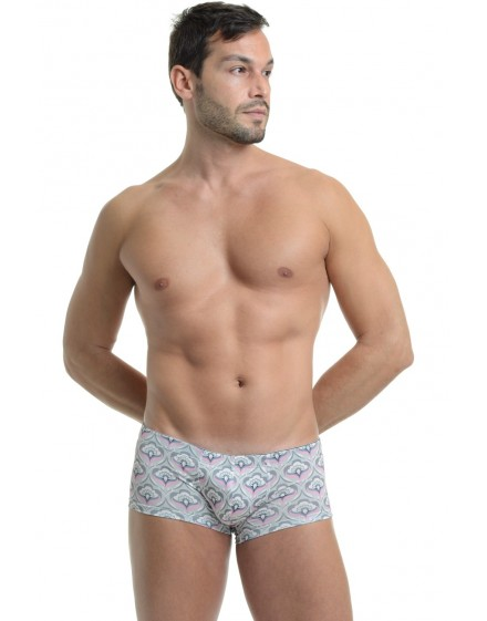 Art Deco Rose Mini Boxer
