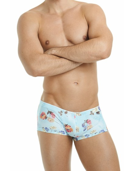 shorty homme court Hawaii miniboxer l'homme invisible