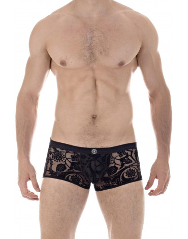 Imperial Black - Push Up Trunks