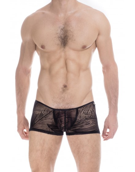 Drifter - Boxer homme Invisible transparent Noir