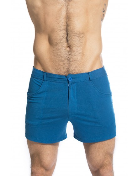 TLJ Shorts - Imperial Blue shorts for men in jersey
