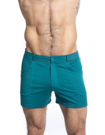 TLJ Shorts - Teal Green chic trendy summer shorts for men