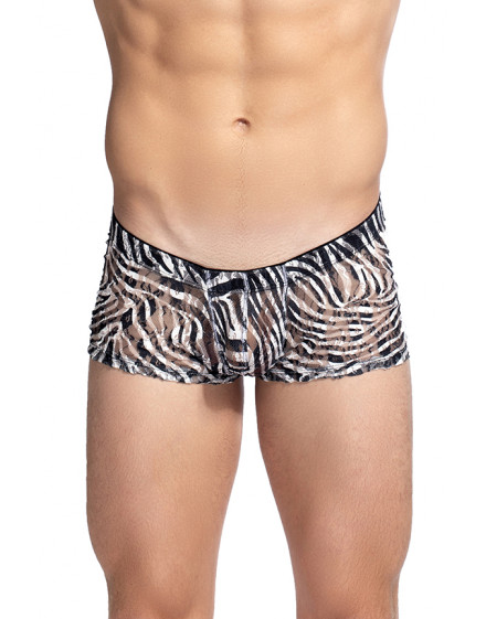 Cory Shorty Push Up homme imprime zebre