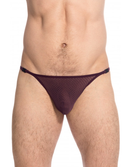 Dyonisos String Striptease homme invisible transparent
