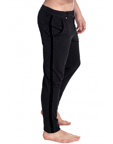 Basel - Jersey Pants Black